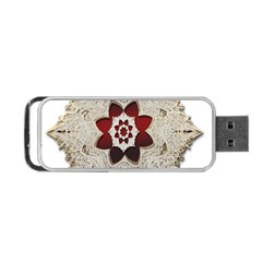 Jewelry Jewel Gems Gemstone Shine Portable Usb Flash (two Sides) by Sapixe