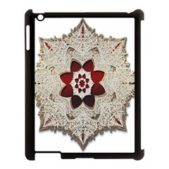 Jewelry Jewel Gems Gemstone Shine Apple Ipad 3/4 Case (black) by Sapixe