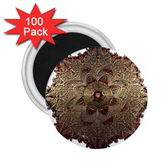 Jewelry Jewel Gem Gemstone Shine 2 25  Magnets (100 Pack)  by Sapixe