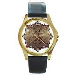 Jewelry Jewel Gem Gemstone Shine Round Gold Metal Watch