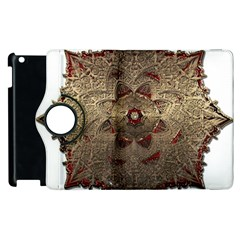 Jewelry Jewel Gem Gemstone Shine Apple Ipad 3/4 Flip 360 Case by Sapixe