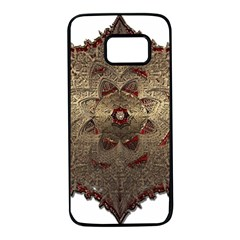 Jewelry Jewel Gem Gemstone Shine Samsung Galaxy S7 Black Seamless Case by Sapixe