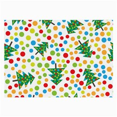 Pattern Circle Multi Color Large Glasses Cloth by Sapixe