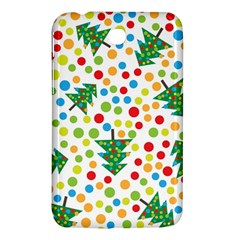 Pattern Circle Multi Color Samsung Galaxy Tab 3 (7 ) P3200 Hardshell Case  by Sapixe