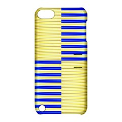 Metallic Gold Texture Apple Ipod Touch 5 Hardshell Case With Stand by Sapixe