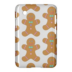 Pattern Christmas Biscuits Pastries Samsung Galaxy Tab 2 (7 ) P3100 Hardshell Case  by Sapixe