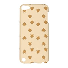 Pattern Gingerbread Star Apple Ipod Touch 5 Hardshell Case by Sapixe