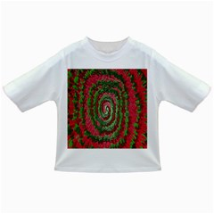 Red Green Swirl Twirl Colorful Infant/toddler T Shirts by Sapixe