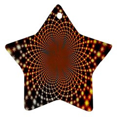 Pattern Texture Star Rings Star Ornament (two Sides) by Sapixe