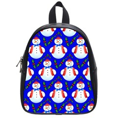 Seamless Repeat Repeating Pattern School Bag (small) by Sapixe