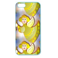 Seamless Repeat Repeating Pattern Apple Seamless Iphone 5 Case (color)