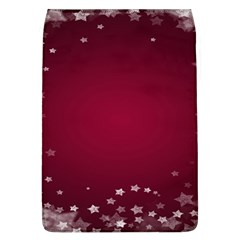 Star Background Christmas Red Flap Covers (l)