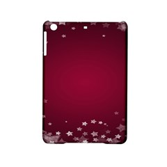 Star Background Christmas Red Ipad Mini 2 Hardshell Cases by Sapixe