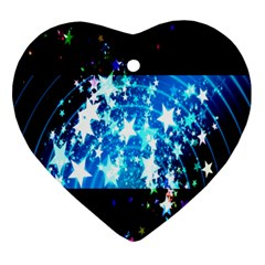 Star Abstract Background Pattern Ornament (heart) by Sapixe