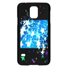 Star Abstract Background Pattern Samsung Galaxy S5 Case (black) by Sapixe