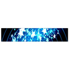 Star Abstract Background Pattern Small Flano Scarf by Sapixe