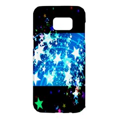 Star Abstract Background Pattern Samsung Galaxy S7 Edge Hardshell Case by Sapixe