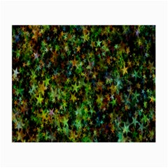 Star Abstract Advent Christmas Small Glasses Cloth by Sapixe