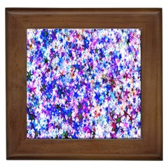 Star Abstract Advent Christmas Framed Tiles