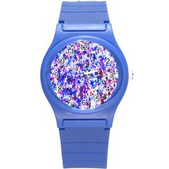 Star Abstract Advent Christmas Round Plastic Sport Watch (s) by Sapixe
