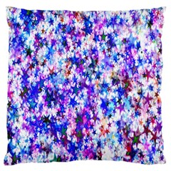 Star Abstract Advent Christmas Large Cushion Case (one Side) by Sapixe