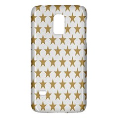 Star Background Gold White Galaxy S5 Mini by Sapixe