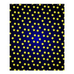 Star Christmas Red Yellow Shower Curtain 60  X 72  (medium)  by Sapixe
