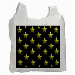 Stars Backgrounds Patterns Shapes Recycle Bag (one Side) by Sapixe