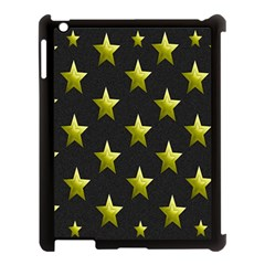 Stars Backgrounds Patterns Shapes Apple Ipad 3/4 Case (black)