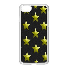 Stars Backgrounds Patterns Shapes Apple Iphone 7 Seamless Case (white)