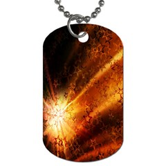 Star Sky Graphic Night Background Dog Tag (one Side) by Sapixe
