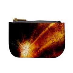 Star Sky Graphic Night Background Mini Coin Purses by Sapixe