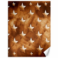 Stars Brown Background Shiny Canvas 36  X 48   by Sapixe