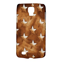 Stars Brown Background Shiny Galaxy S4 Active by Sapixe