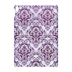 Damask1 White Marble & Purple Leather (r) Apple Ipad Pro 10 5   Hardshell Case by trendistuff