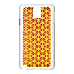 Texture Background Pattern Samsung Galaxy Note 3 N9005 Case (white) by Sapixe