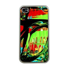 Quiet Place Apple Iphone 4 Case (clear) by bestdesignintheworld