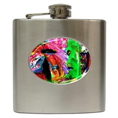 1073194 230077083819951 789389796 O   Triplets 1 Hip Flask (6 Oz) by bestdesignintheworld