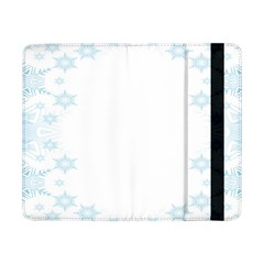 The Background Snow Snowflakes Samsung Galaxy Tab Pro 8 4  Flip Case