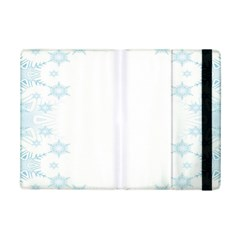 The Background Snow Snowflakes Ipad Mini 2 Flip Cases by Sapixe