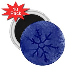 Winter Hardest Frost Cold 2 25  Magnets (10 Pack)