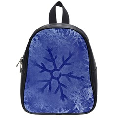 Winter Hardest Frost Cold School Bag (small) by Sapixe
