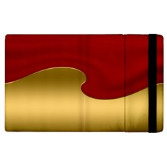 Background Banner Festive Wave Apple Ipad 3/4 Flip Case by Sapixe