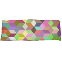 Mosaic Background Cube Pattern Body Pillow Case Dakimakura (two Sides) by Sapixe