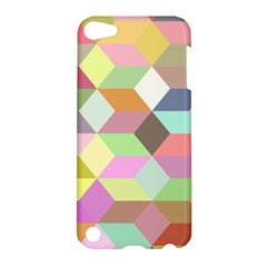 Mosaic Background Cube Pattern Apple Ipod Touch 5 Hardshell Case by Sapixe