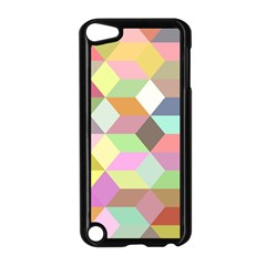 Mosaic Background Cube Pattern Apple Ipod Touch 5 Case (black) by Sapixe