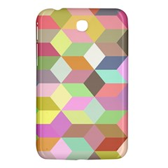 Mosaic Background Cube Pattern Samsung Galaxy Tab 3 (7 ) P3200 Hardshell Case