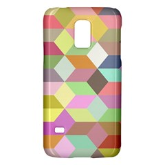 Mosaic Background Cube Pattern Galaxy S5 Mini