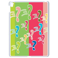 Question Mark Problems Clouds Apple Ipad Pro 9 7   White Seamless Case