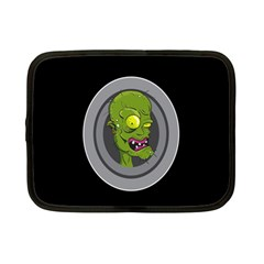 Zombie Pictured Illustration Netbook Case (small)  by Sapixe